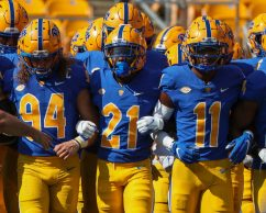Pitt Takes the field - September 18, 2021 David Hague/PSN