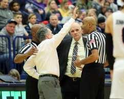 Coach Keith Dambrot January 12, 2019 -- David Hague/PSN