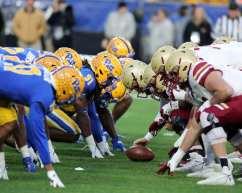 Pitt vs Boston Colllege November 30, 2019 -- David Hague/PSN