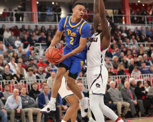 Trey McGowens (2) November 12, 2019 -- David Hague/PSN