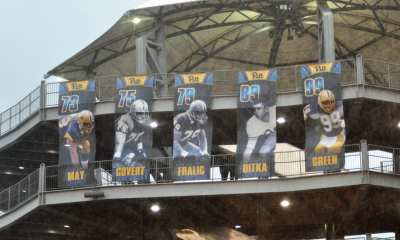 Pitt Hall of Fame Banners -- MIKE SMETANA
