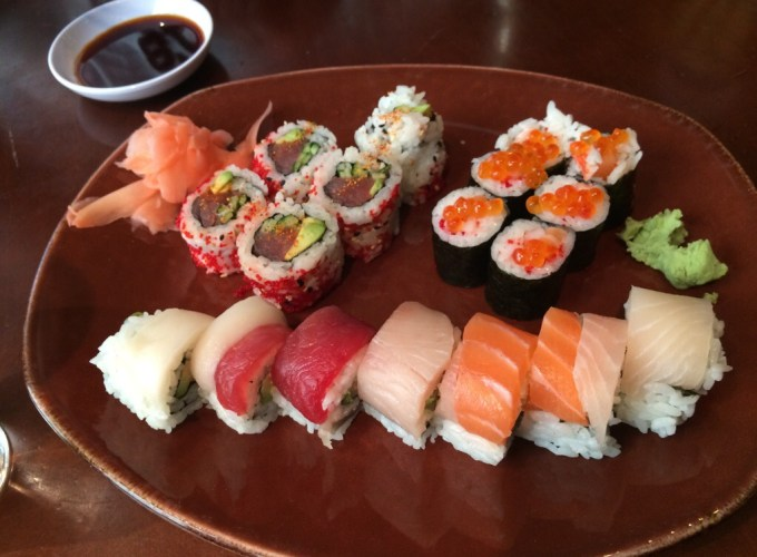 Sushi from Original Fish Market