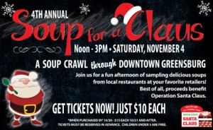 Operation Santa Claus: Soup for a Claus