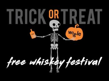 Trick or Treat Free Whiskey Festival