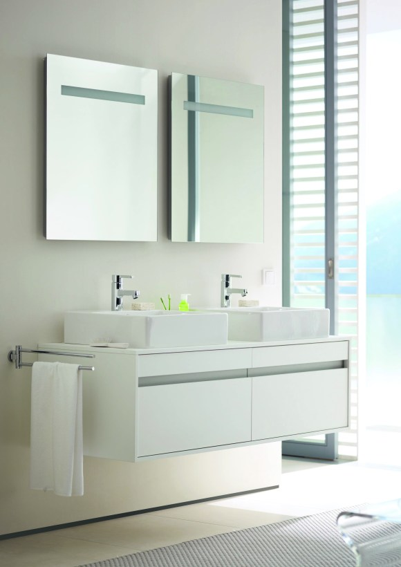 New Bathroom Inspiration - Ketho Double Vanity Unit