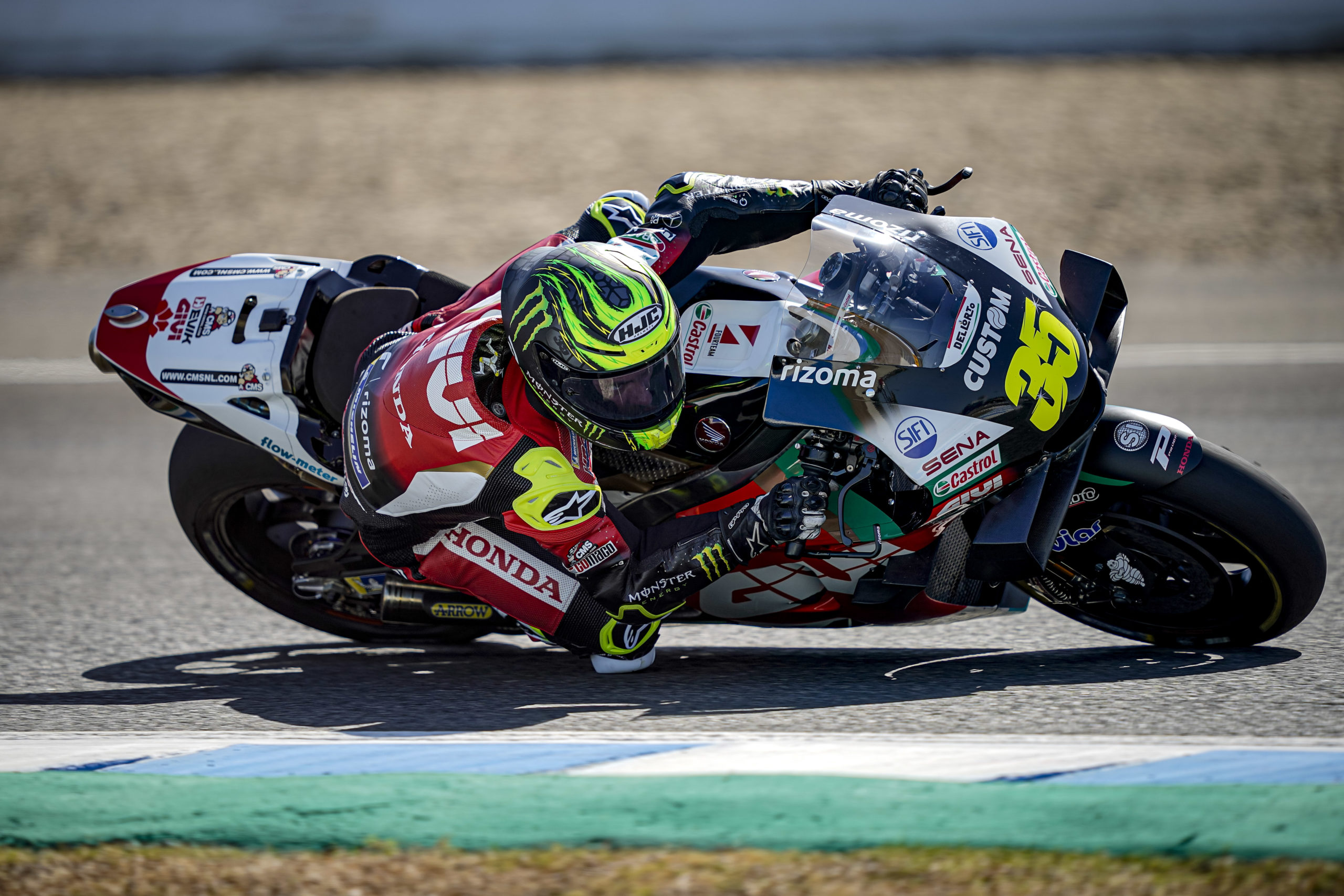 Cal Crutchlow, LCR-Honda, Jerez test 2020, MotoGP
