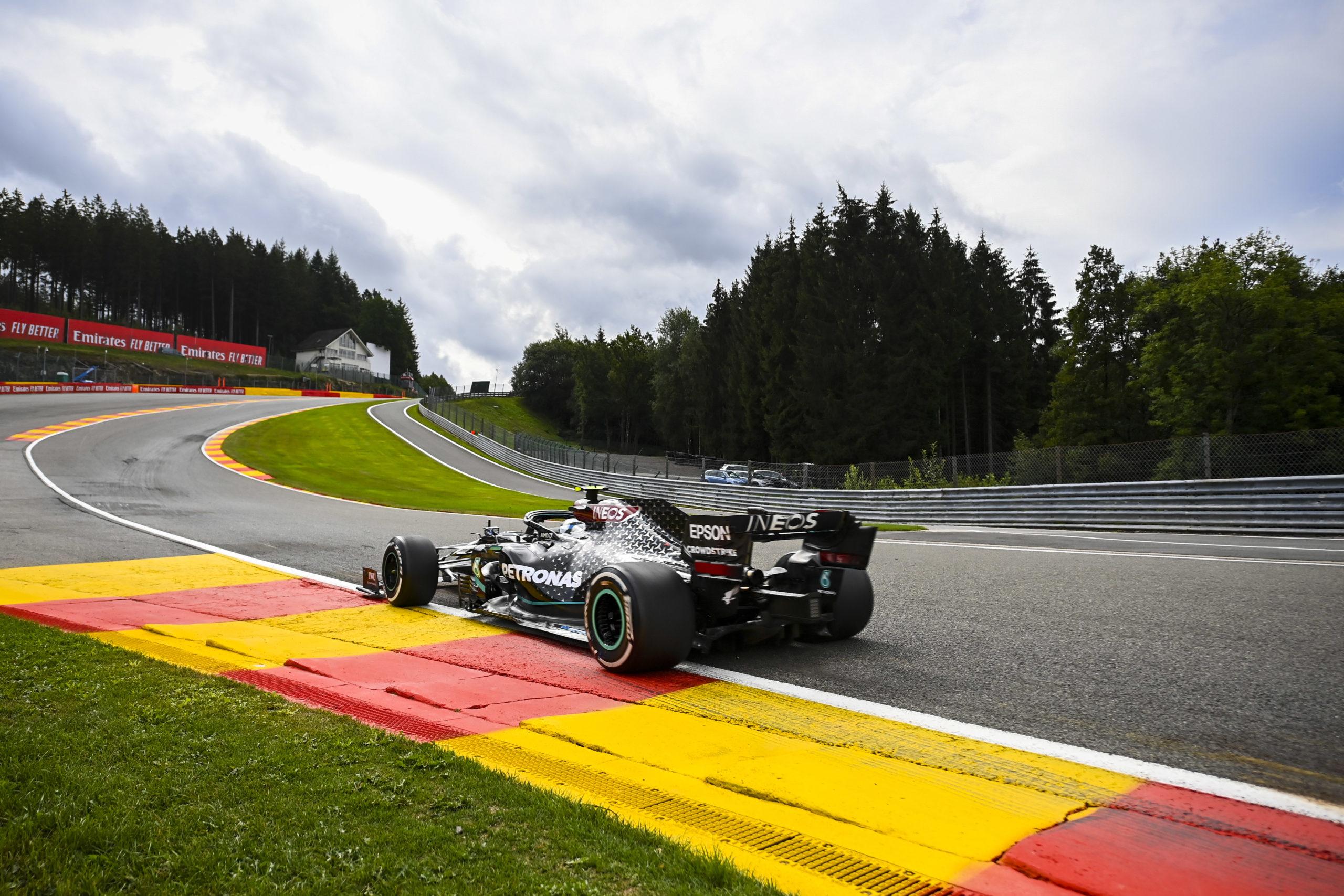2020 Belgian Grand Prix, Friday - LAT Images, Mercedes, Bottas