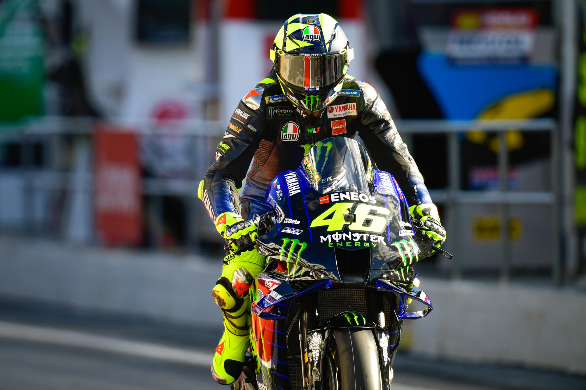 Valentino Rossi, Monster Energy Yamaha MotoGP, Circuit Barcelona Catalunya 2020