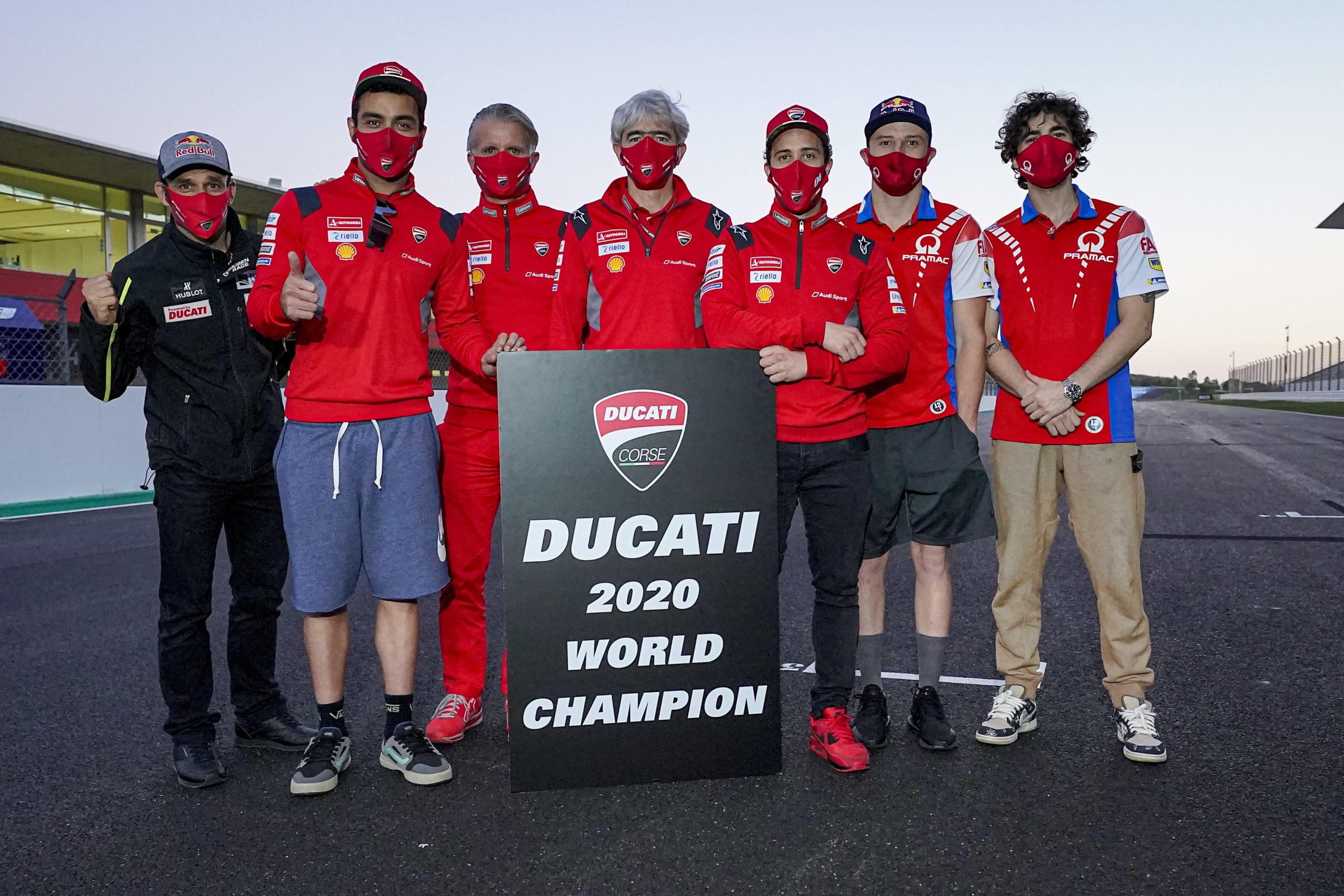 Ducati 2020 World Champion