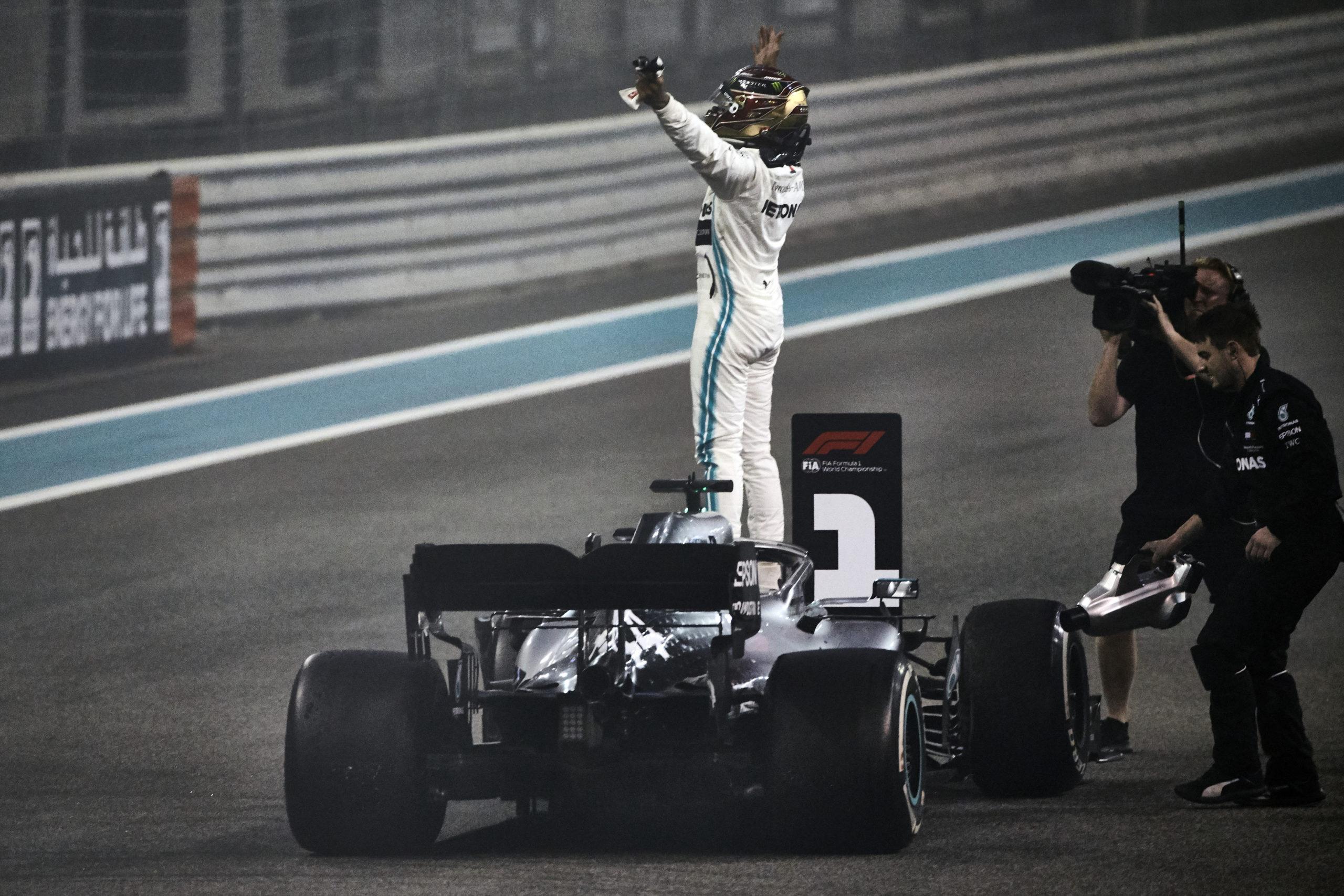 2019 Abu Dhabi Grand Prix, Sunday - Steve Etherington