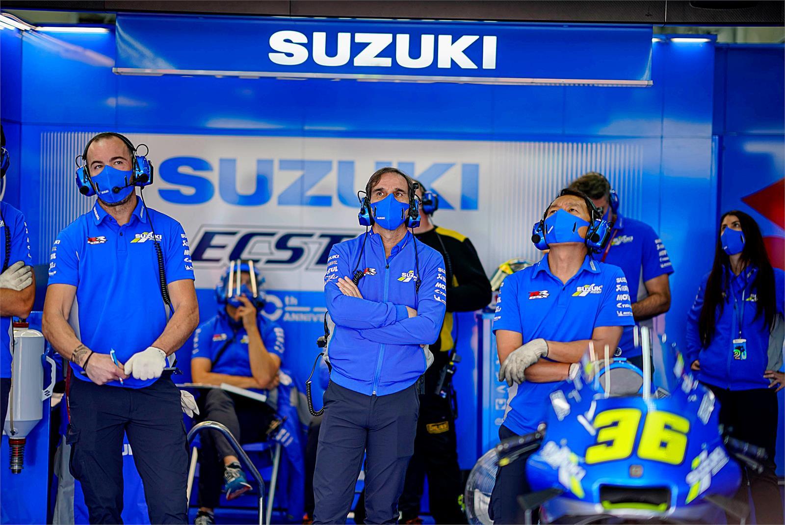 Davide Brivio, Suzuki Ecstar, Valencia 2020, MotoGP