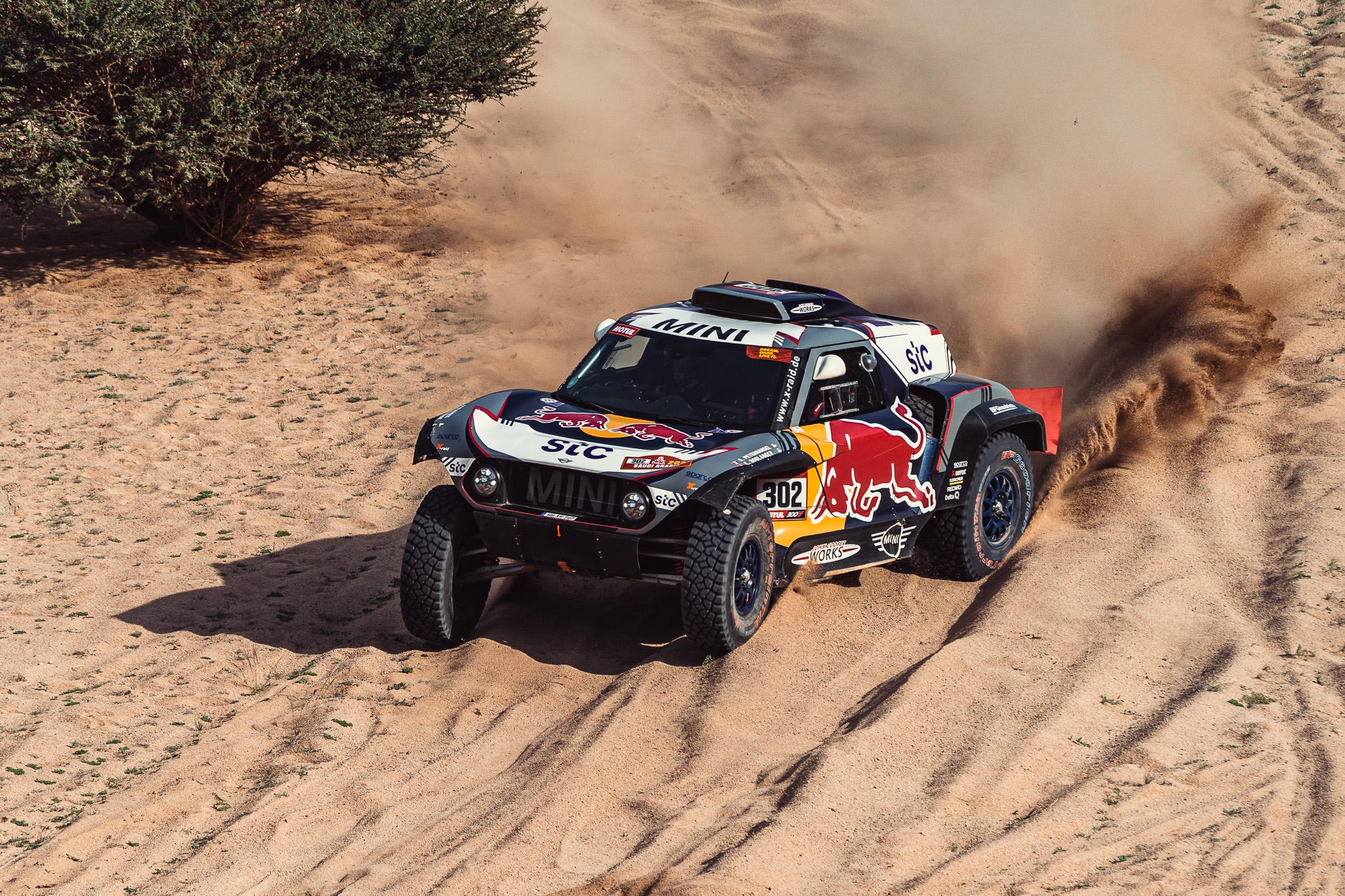 #302, Stéphane Peterhansel, Mini, X-Raid Mini JCW Team
