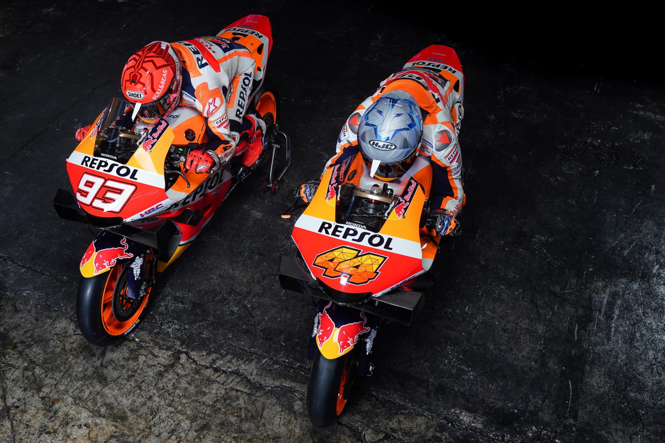 Marc Márquez, Pol Espargaró, Repsol Honda, MotoGP, 2021
