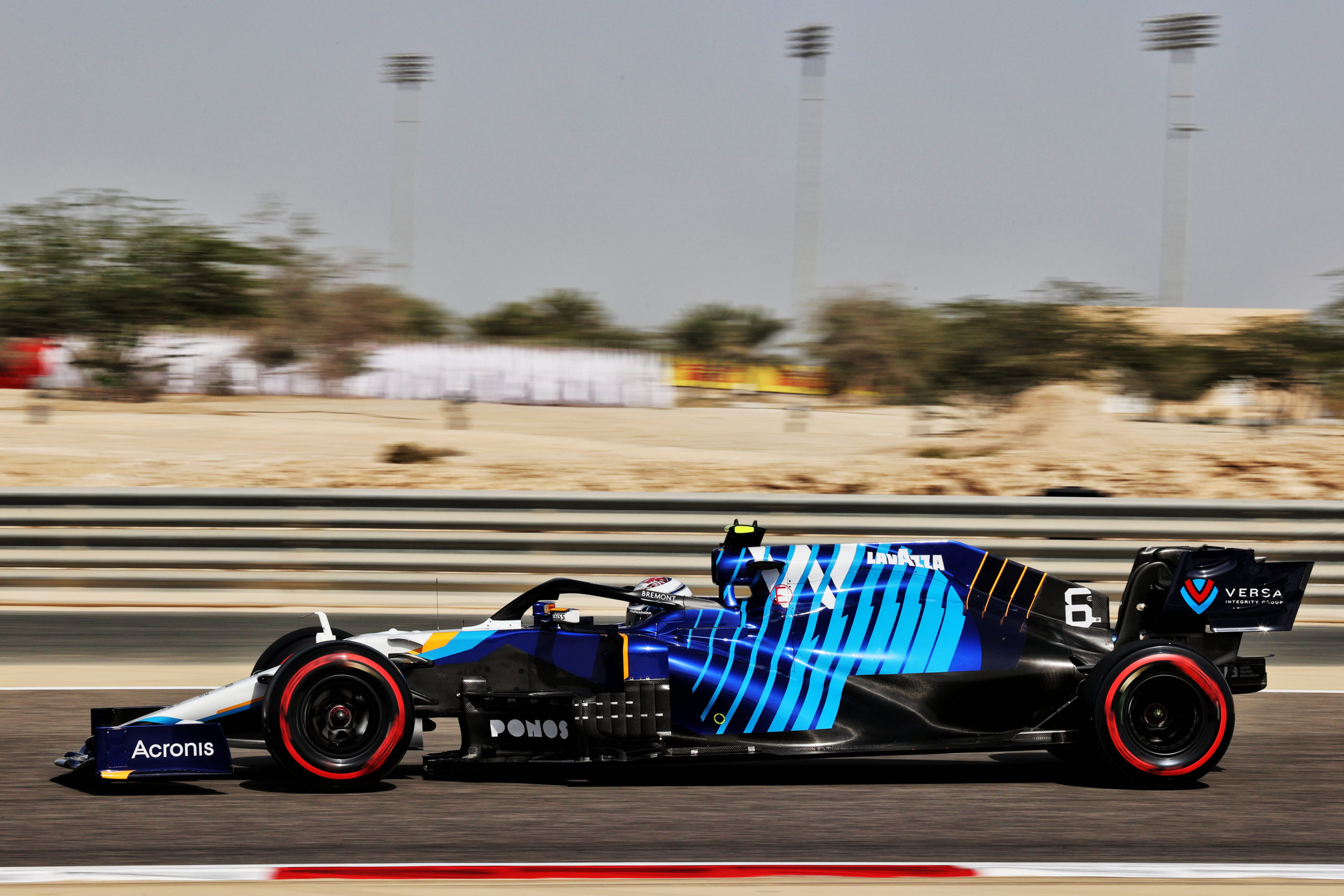 Nicholas Latifi (CDN) Williams Racing FW43B. Bahrain Grand Prix, Friday 26th March 2021. Sakhir, Bahrain.