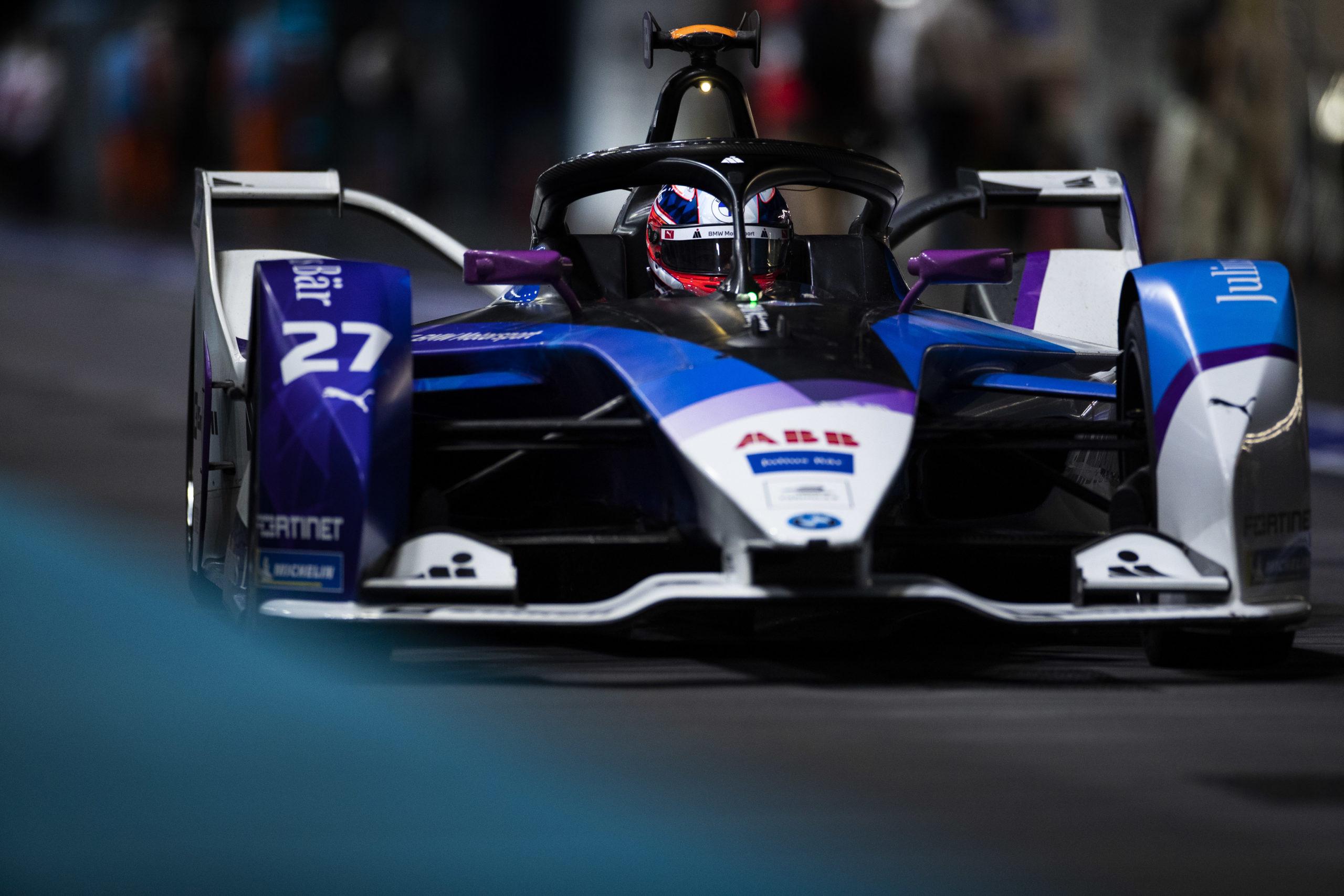 London (GBR), 23rd- 25th July 2021. ABB FIA Formula E World Championship, Season 7, London E-Prix, Jake Dennis (GBR) #27 BMW iFE.21, BMW i Andretti Motorsport.