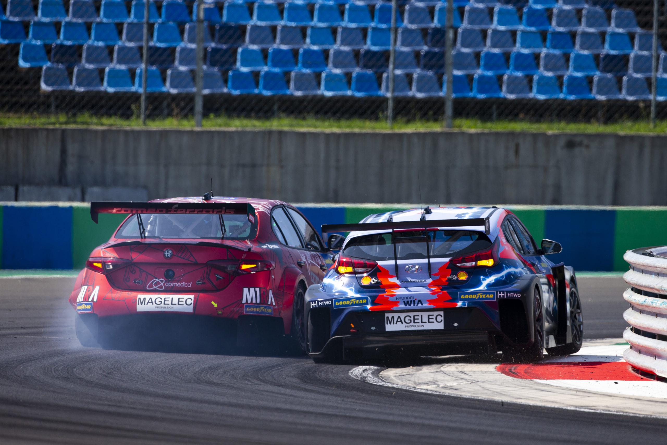 Vernay - Hyundai - Ronda 2 - Hungría - PURE ETCR 2021