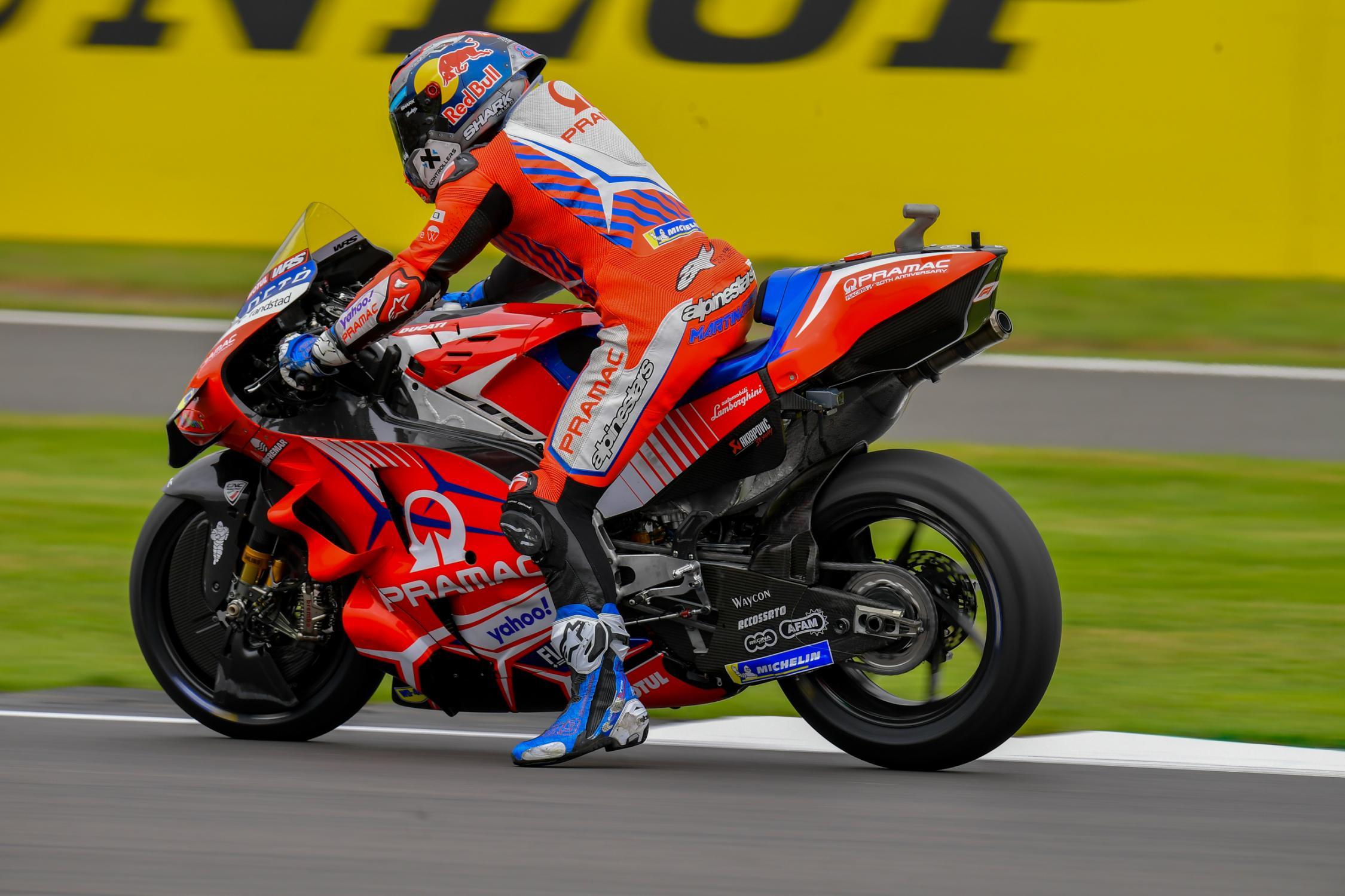 Jorge Martin, Pramac Racing, Monster Energy British Grand Prix