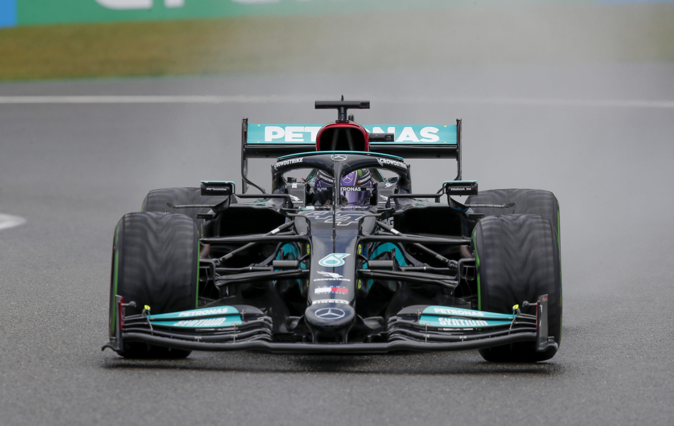 Lewis Hamilton, Mercedes, 2021 Belgian Grand Prix, Saturday - LAT Images