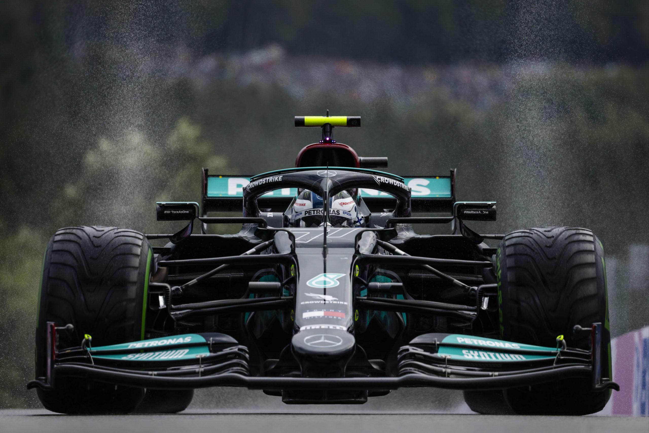 Valtteri Bottas, Mercedes, 2021 Belgian Grand Prix, Saturday - LAT Images