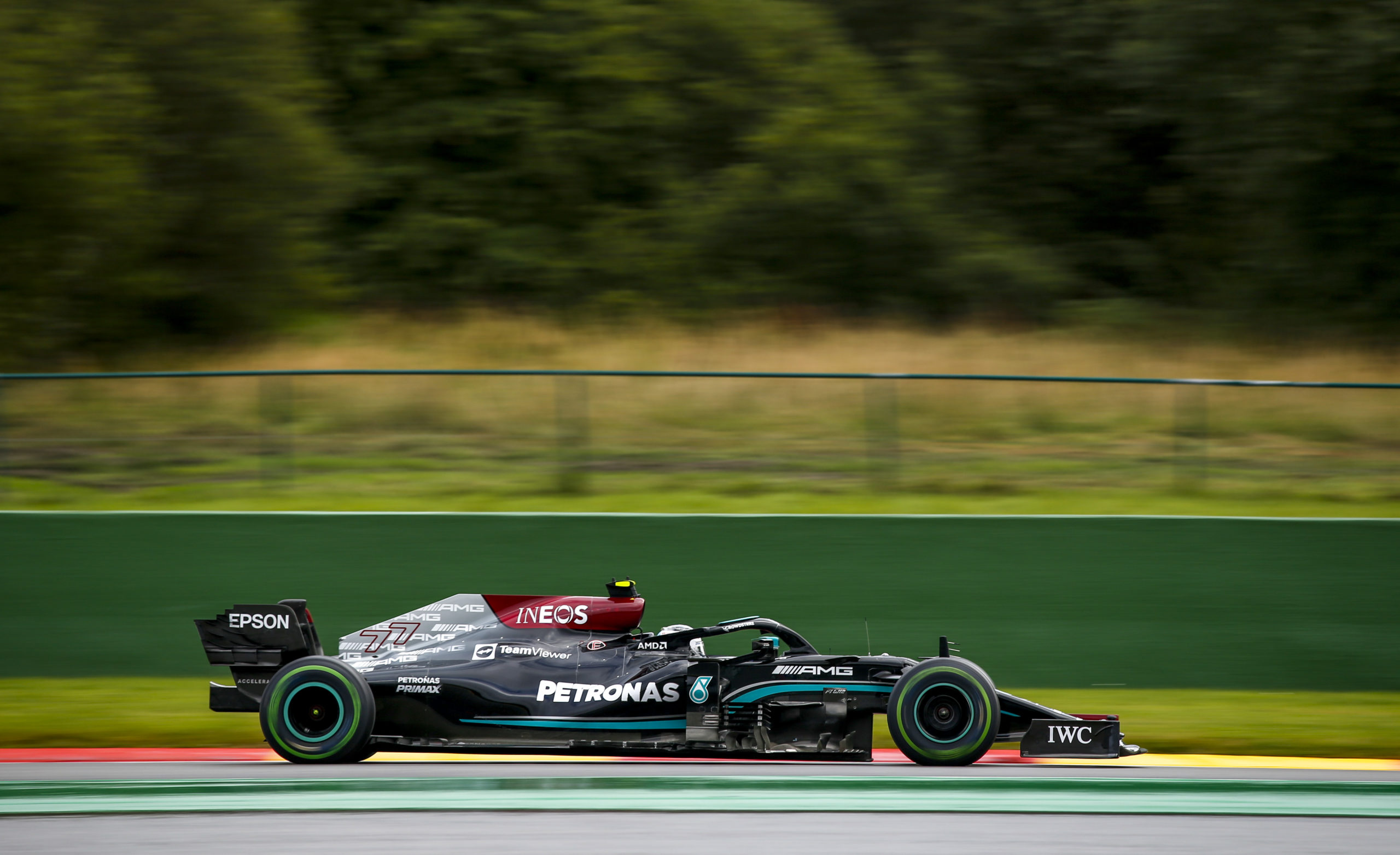 Valtteri Bottas, Mercedes, 2021 Belgian Grand Prix, Saturday - Jiri Krenek