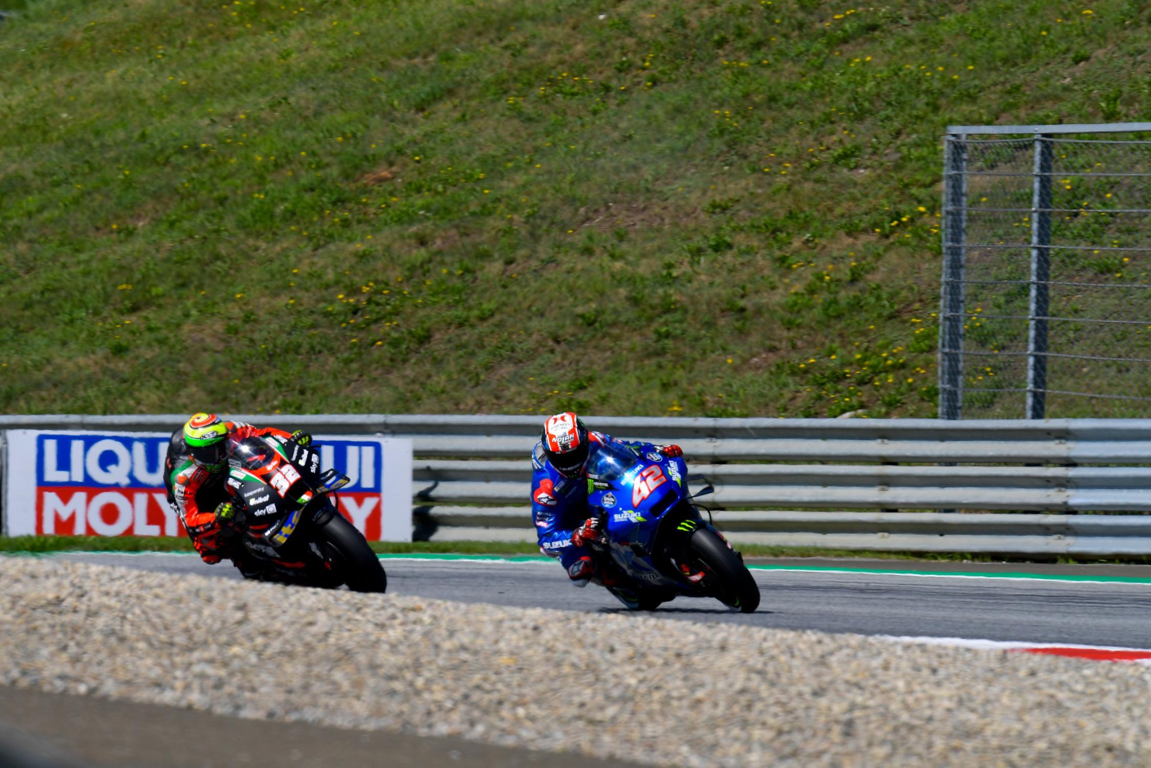 Lorenzo Savadori, Alex Rins, Team Suzuki Ecstar, Michelin® Grand Prix of Styria