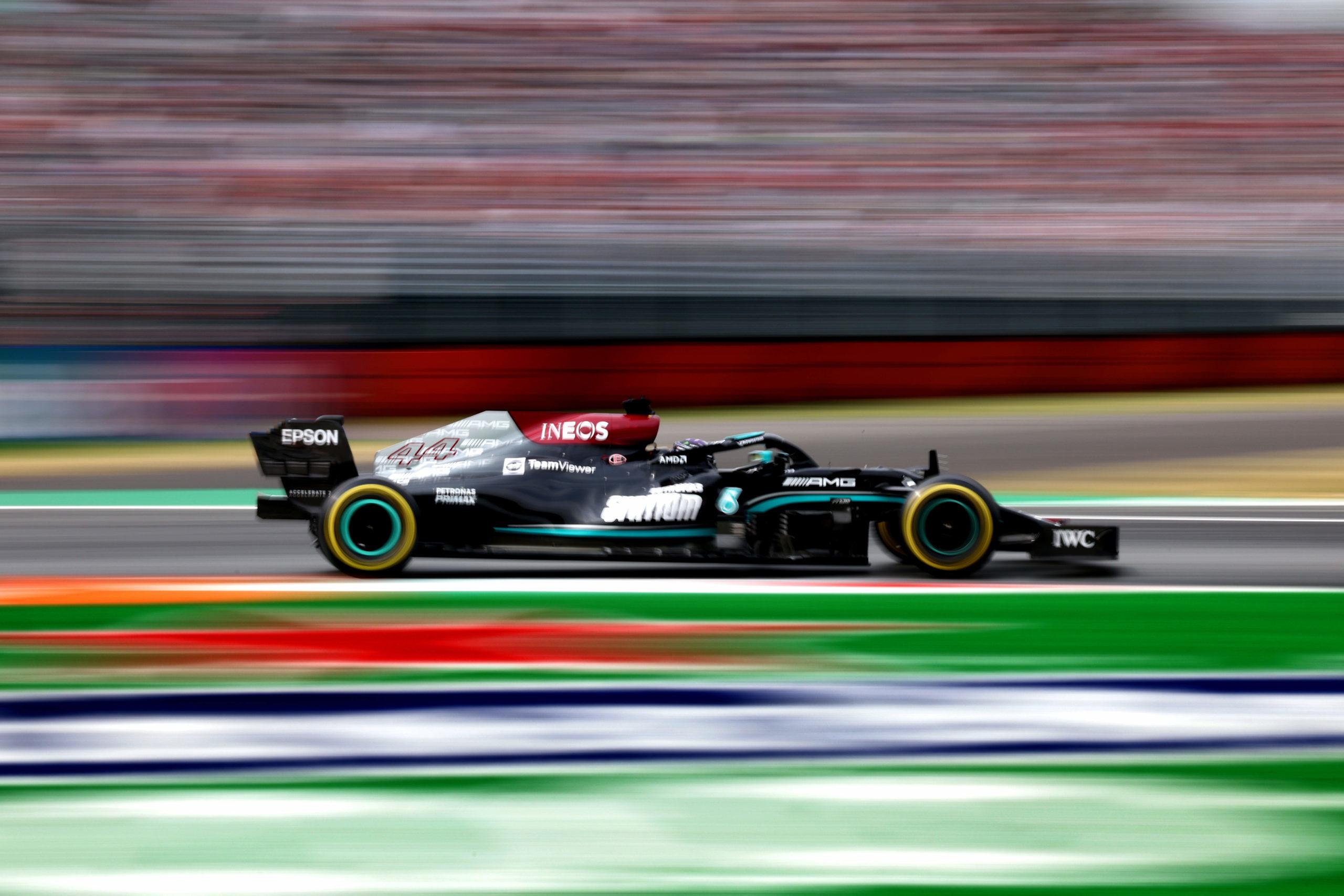 Lewis Hamilton, Mercedes, 2021 Italian Grand Prix, Friday - Steve Etherington