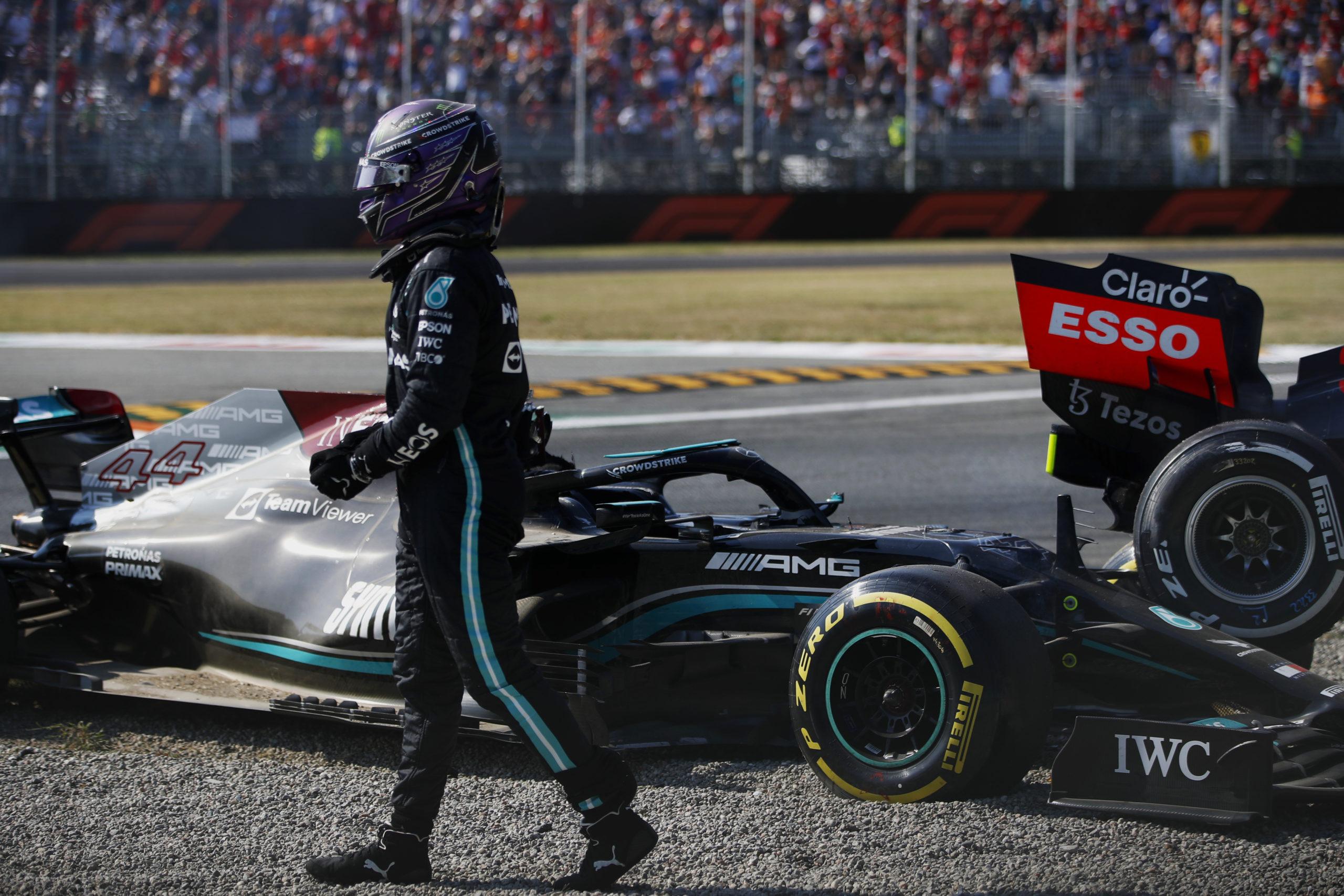 Lewis Hamilton, Mercedes, 2021 Italian Grand Prix, Sunday - LAT Images