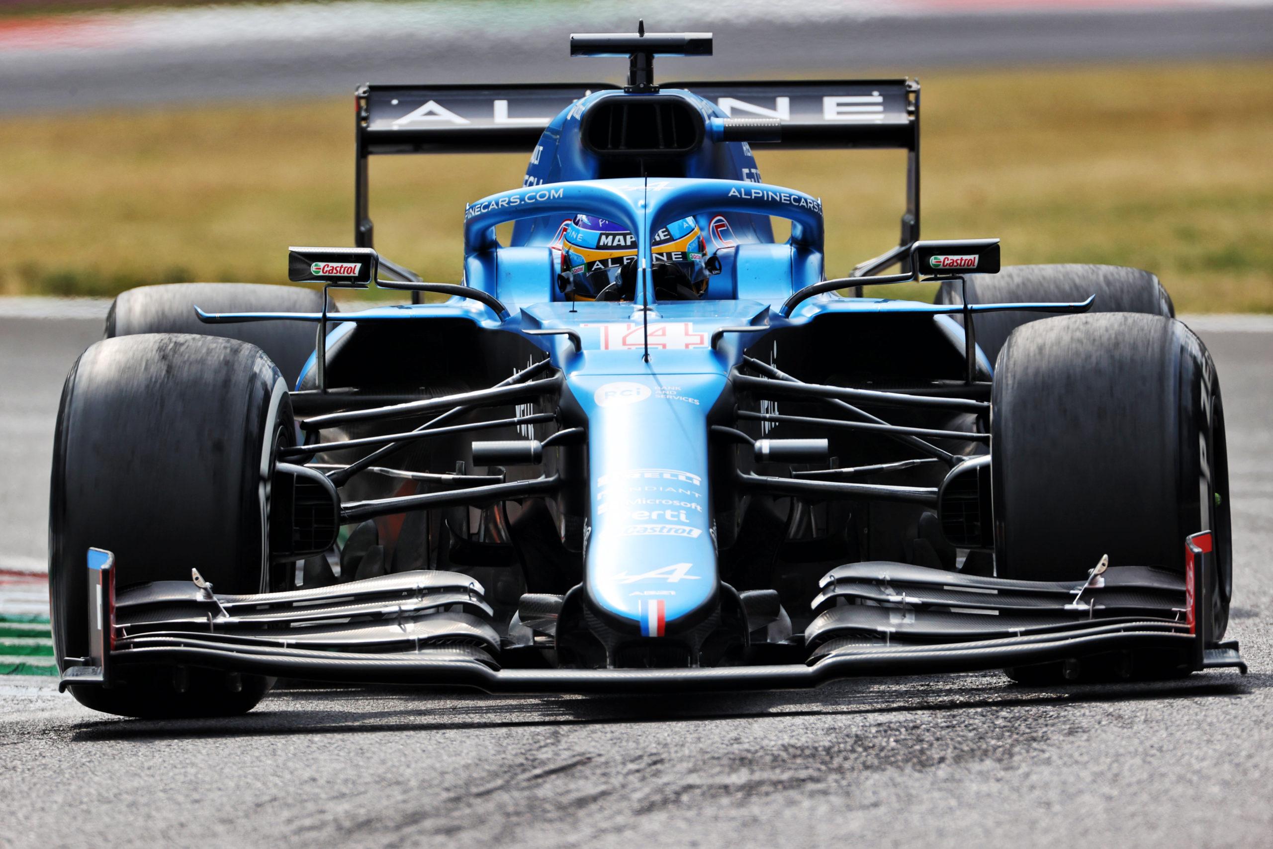 Fernando Alonso (ESP), Alpine F1 Team A521, F1 Italian Grand Prix at Monza, 2021. Copyright: Alpine Media