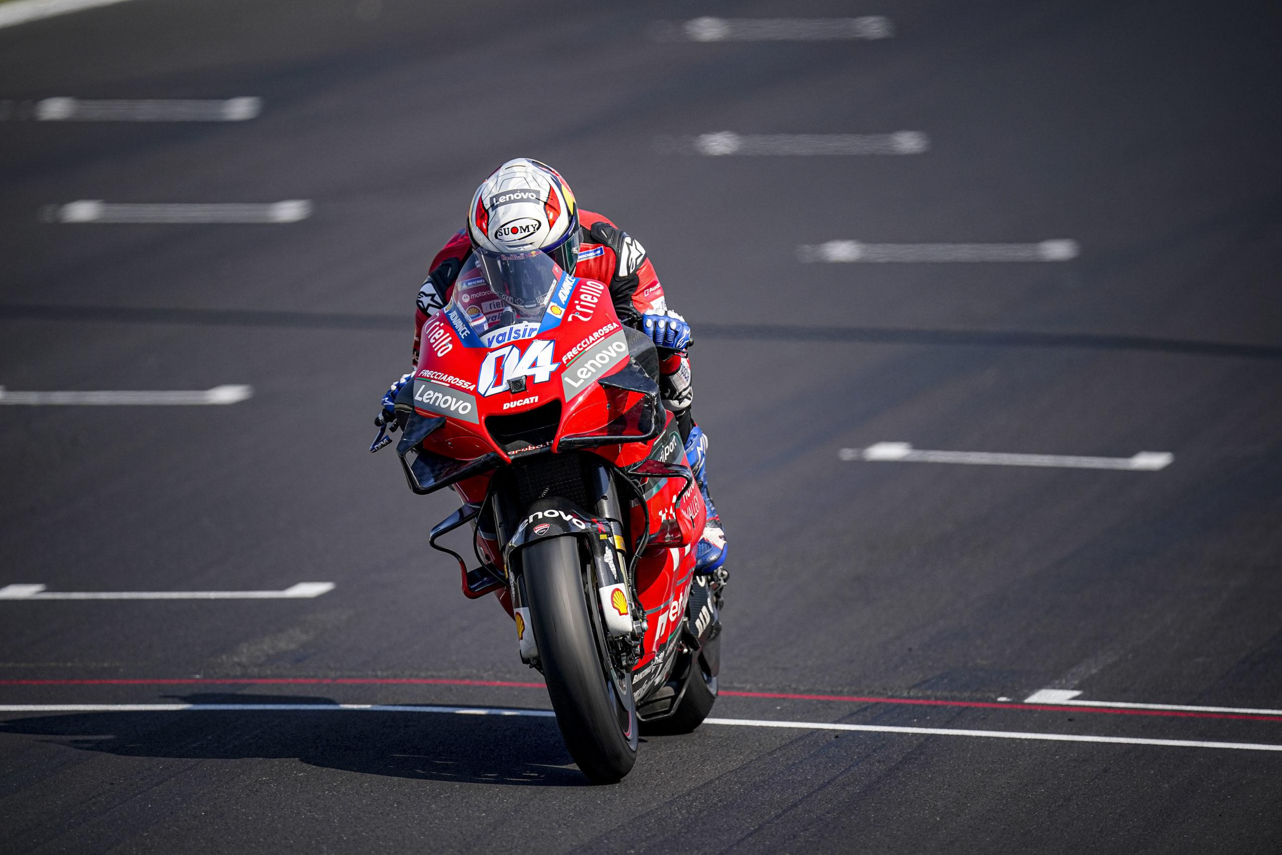 Andrea Dovizioso, Test Misano 2020, Ducati, MotoGP