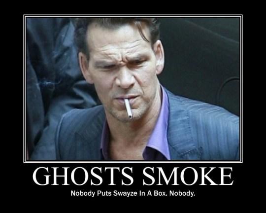 Patrick Swayze Smoking