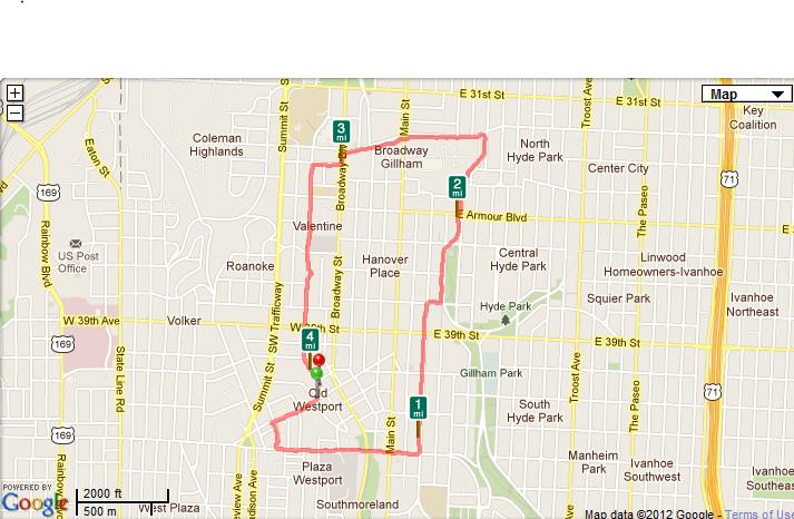 My First Run March Th Pitwestoncom - Map how far i ran