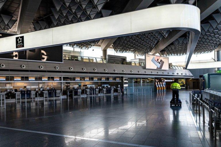pandemia 2020 aeroporto