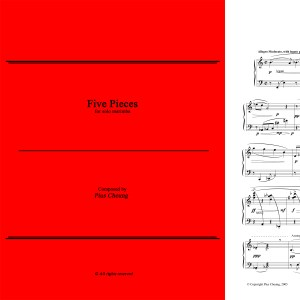 Five Pieces (solo marimba)