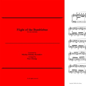 Flight of the Bumblebee (arr. for solo marimba)