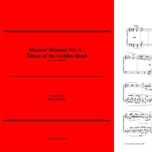 Musical Moment No. 4 (solo marimba)