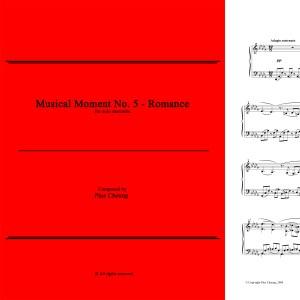 Musical Moment No. 5 (solo marimba)