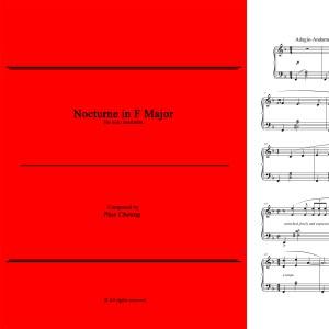 Nocturne in F Major (solo marimba)