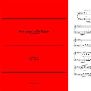 Nocturne in Gb Major (solo marimba)