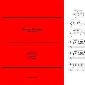 Verano Porteño (arr. for solo marimba)