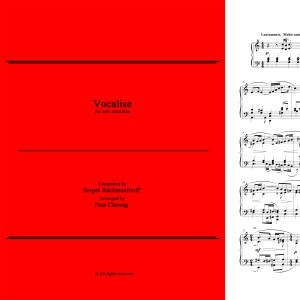 Vocalise (arr. for solo marimba)
