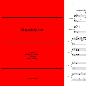 Rhapsody in Blue (arr. for marimba duo)