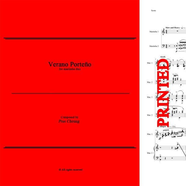 Verano Porteno (arr. for marimba duo)