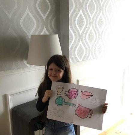 "Ella Sr. Inf Ms Durkan ""My capacity poster"""