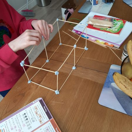 """Rosie 2nd Mr. Neary """"Making 3D shapes"""""""