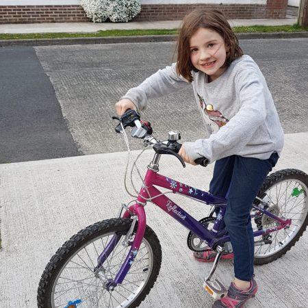 """Eleanor 3rd Ms Buckley """"Active week - out cycling my bike"""""""