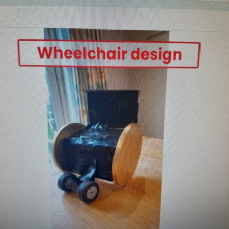 Jessica`s wheelchair design