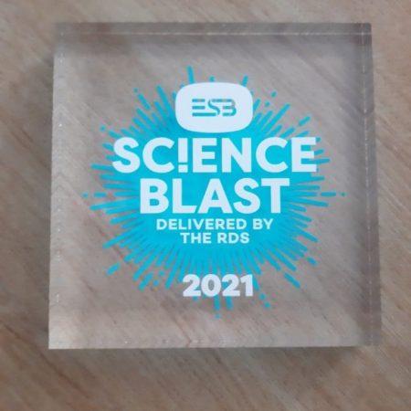 Science Blast Award 2021