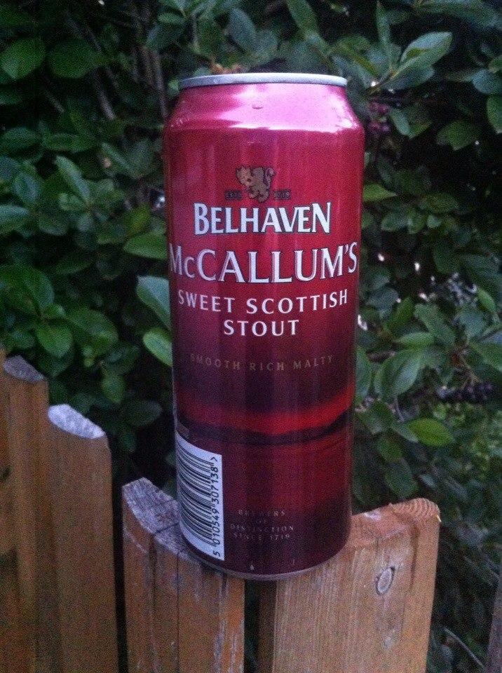 Belhaven McCallum's Sweet Scottish Stout