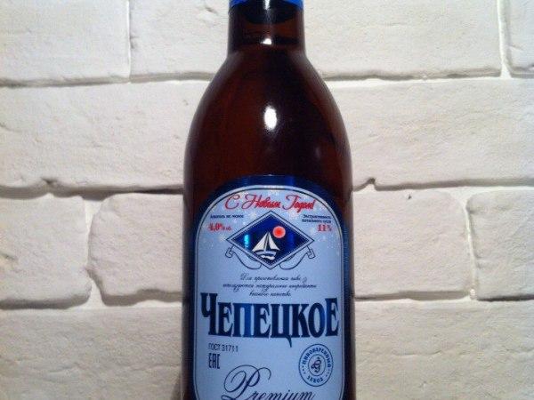 Чепецкое Premium Живое Пиво (Россия)