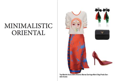 Minimalistic and Oriental